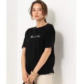 [マルイ]【セール】【洗える】ロゴプリント Tシャツ/シェアパーク レディス(SHARE PARK LADIES)