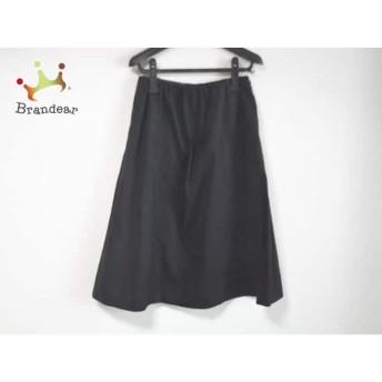 トゥモローランド TOMORROWLAND ロングスカート サイズ36 S レディース 美品 黒 スペシャル特価 20190807