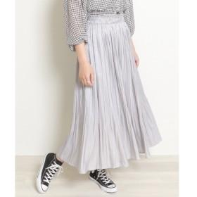 [マルイ]【セール】サテン消しプリーツスカート/レイカズン(RAY CASSIN)