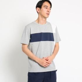 [マルイ]【セール】【洗える】ブロッキング天竺 Tシャツ/デッサン(メンズ)(Dessin Mens)