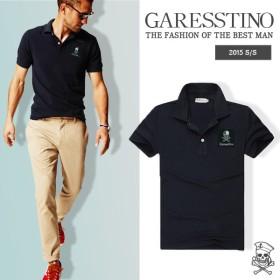 ガレスティーノ ポロシャツ Garesstino イタリア メンズ HYDROGEN 新作 スカル トップス