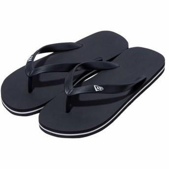 ニューエラ(NEWERA) メンズ ビーチサンダル ブラック 11901533 スポーツサンダル トレーニング シューズ 靴