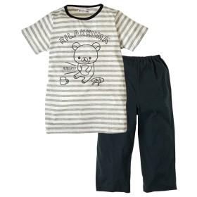 【リラックマ】半袖パジャマ(女の子 子供服 ジュニア服) キッズパジャマ