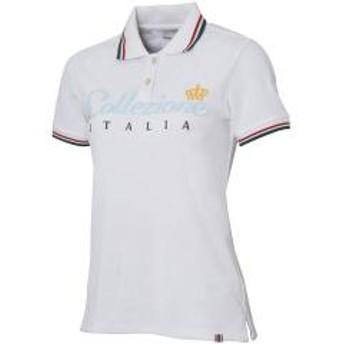 カッパ KappaCollezione ITALIA レタリング半袖ポロシャツ レディス