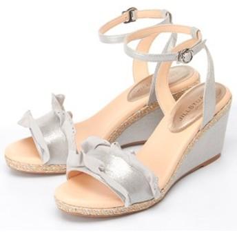 ジルスチュアート シュー(シューズ)(JILLSTUART shoe)/アンクルストラップウェッジサンダル