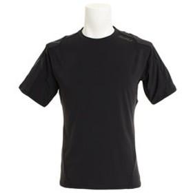 【Super Sports XEBIO & mall店:スポーツ】【オンライン特価】ストレッチニット 半袖Tシャツ MR6009A-BLK/BLK