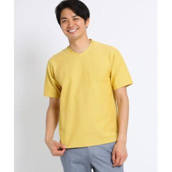 TAKEO KIKUCHI(タケオキクチ) [速乾 防臭 フレT]メランジハニカムTシャツ