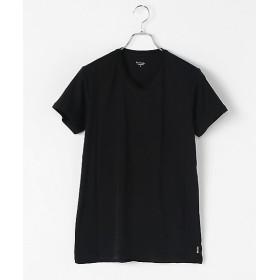 <ポール・スミス アンダーウェア> 半袖VネックTシャツ 019クロ 【三越・伊勢丹/公式】