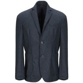 《セール開催中》AT.P.CO メンズ テーラードジャケット ダークブルー 52 60% ウール 30% ポリエステル 10% ナイロン
