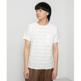SENSE OF PLACE by URBAN RESEARCH / センスオブプレイス バイ アーバンリサーチ スラブボーダーTシャツ(5分袖)