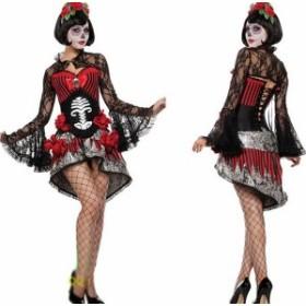 ゾンビ 花嫁 コスチューム 魔女仮装  ハロウィン レディース アニメ コスプレ衣装 吸血鬼 パーティー クリスマス