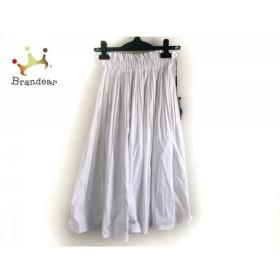 ダブルスタンダードクロージング スカート サイズ36 S レディース 美品 白 新着 20190426