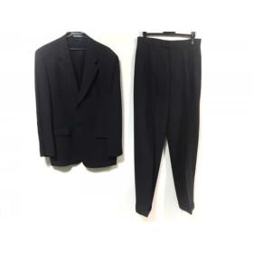 【中古】 ムッシュニコル monsieur NICOLE シングルスーツ サイズ50 メンズ ネイビー 2eme