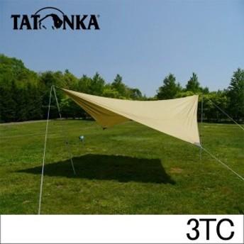 [あす着]タトンカ Tatonka タープ Tarp 3 TC (400×400cm) ヘキサタープ ポリコットン製 防水 遮光 2462 コクーン キャンプ アウトド