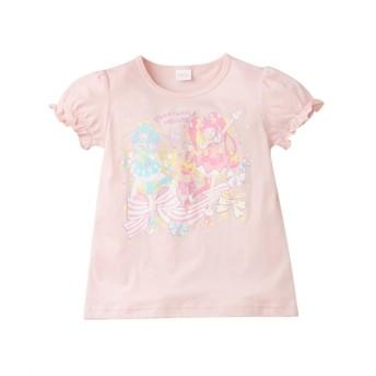 【スター。トゥインクルプリキュア】半袖Tシャツ(女の子 子供服) Tシャツ・カットソー