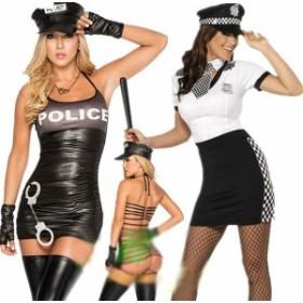 コスプレ 衣装 ハロウィン ポリス コスチューム 男性受け抜群 制服 警察官 婦人警官 レディース  アリス  バニーガール