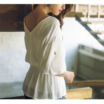 [マルイ] 袖刺しゅう前後着れる2WAYチュニック/ジーラ バイ リュリュ(ファッション)