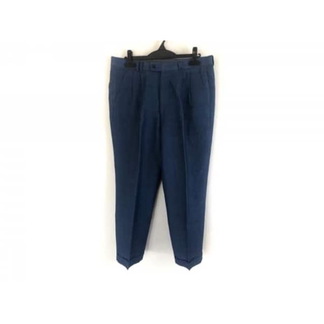 【中古】 ランバン LANVIN パンツ サイズ85 メンズ ブルー