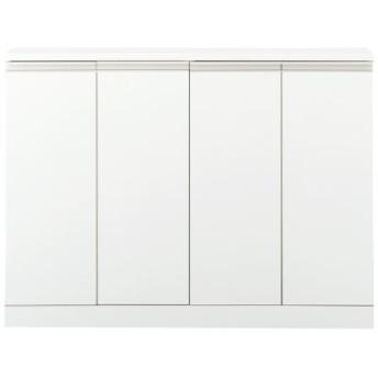 キャビネット(奥行が選べるロータイプ) - セシール ■カラー:ホワイト ■サイズ:D(奥行30/幅60)