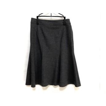 【中古】 マテリア MATERIA スカート サイズ38 M レディース グレー