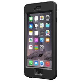 トーン ガラス液晶保護フィルム LIFEPROOF nuud iPhone6 Black LPNUUDG6BCK