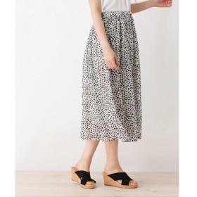 SHOO・LA・RUE / シューラルー シフォンギャザースカート
