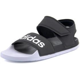 adidas(アディダス) ADILETTE SANDAL レディーサンダル(アディレッタサンダル) F35416 コアブラック/ランニングホワイト/コアブラック【レディース】 スポーツ
