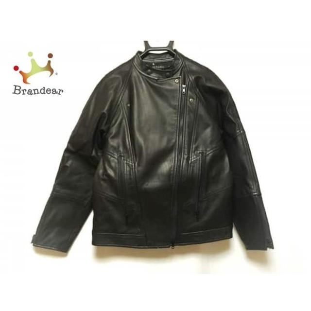 ベラルディ BERARDI ライダースジャケット サイズ2 M レディース 美品 黒 冬物/レザー 新着 20190425