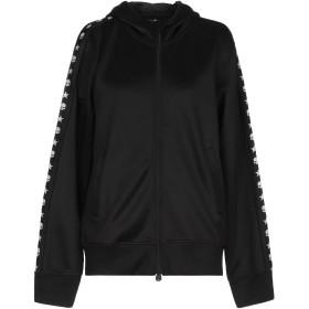 《期間限定セール開催中!》HYDROGEN レディース スウェットシャツ ブラック XS ポリエステル 94% / ポリウレタン 6%