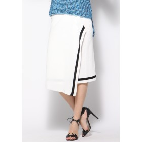 Viaggio Blu 変形ラップスカート その他 スカート,ホワイト