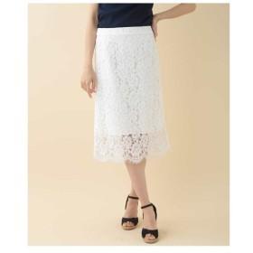 TARA JARMON / 【洗える】レースタイトスカート