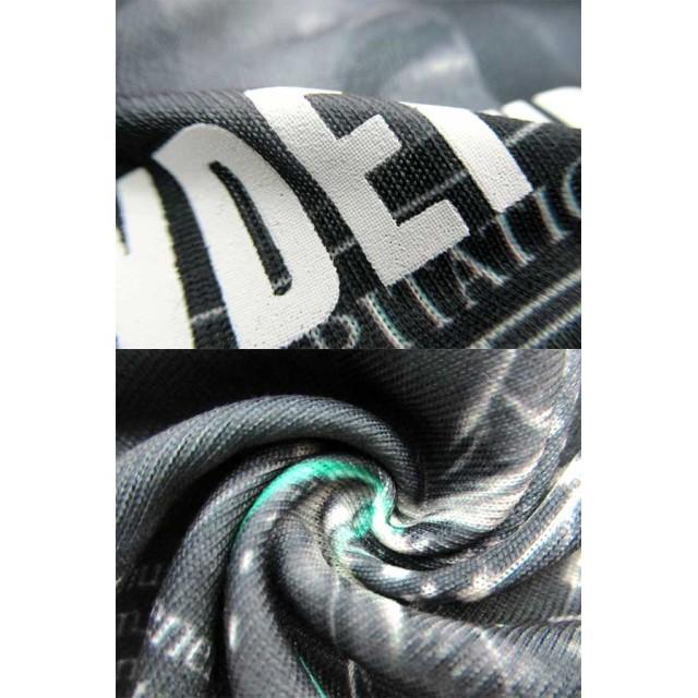 Tシャツ - MARUKAWA B ONE SOUL Tシャツ メンズ 夏 昇華転写 フォト プリント 半袖 ホワイト/ブラック M/L/XL【 ティーシャツ 総柄ストリート カジュアル】