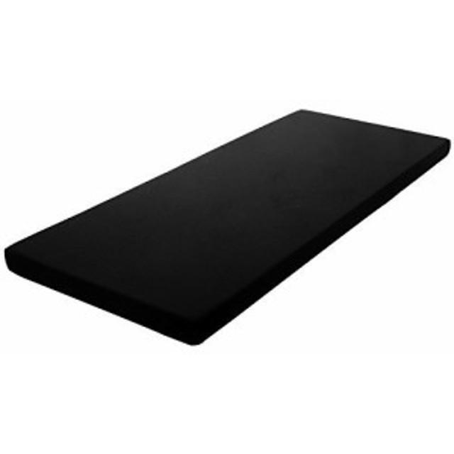 三つ折 肩こり対策 高反発マットレス 三つ折り 厚み10c 高密度高反発ウレタン (ゼミダブル 腰痛