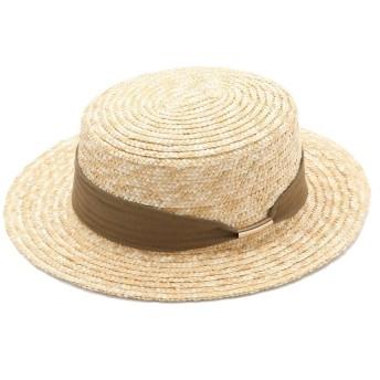 ROPE PICNIC PASSAGE ロペピクニックパサージュ リネン混リボンカンカン帽 GIU29030
