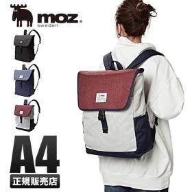 対象店 最大P32倍 MOZ モズ リュック フラップバックパック レディース A4 ZZEI-12