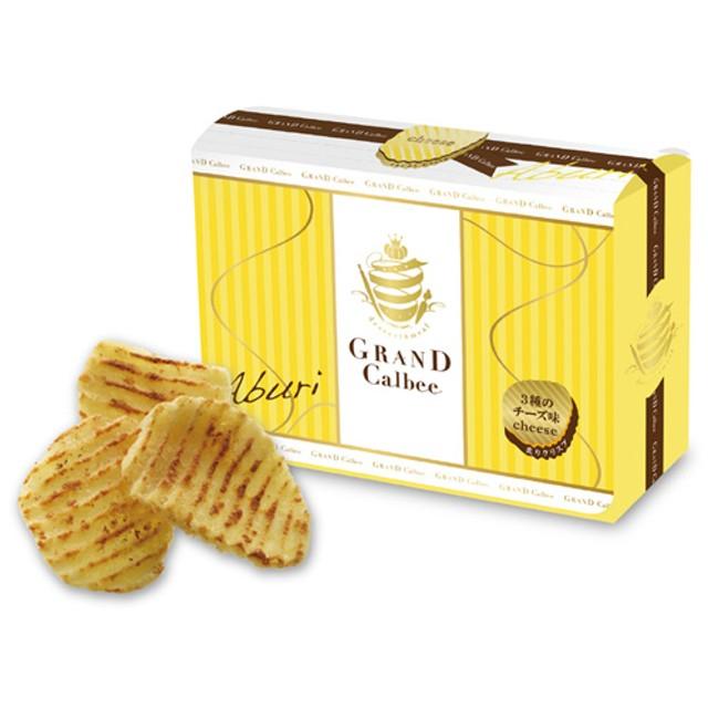 グランカルビー 炙りクリスプ 3種のチーズ味
