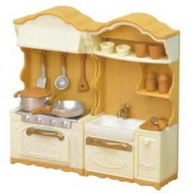 シルバニアファミリー カ-420 キッチンコンロ・シンクセット 家具