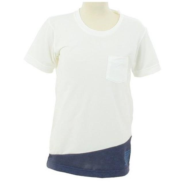 カリマー(karrimor) ジュニア 半袖Tシャツ ミックス 53454K182-White/NV (Jr)