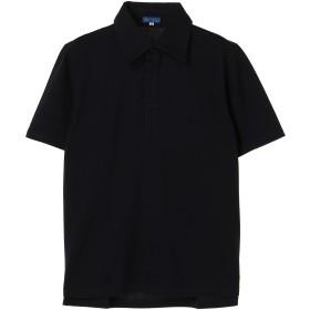 リングヂャケット ポロシャツ ポロシャツ,ネイビー
