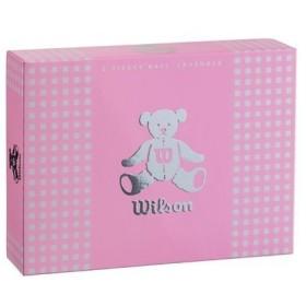 ウイルソン レディースゴルフボール ウイルソンベア 3(ラベンダー)1ダース 12個 WilsonBear BEAR3 LV 12P 返品種別A