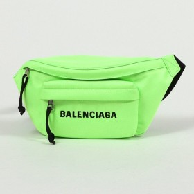 並行輸入品 BALENCIAGA バレンシアガ ウィール ネオンカラー ナイロン ベルトバッグ 569978 98P1N