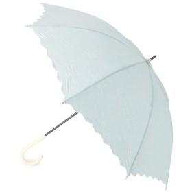 ITS' DEMO(イッツデモ) 晴雨兼用フラワー刺繍長傘