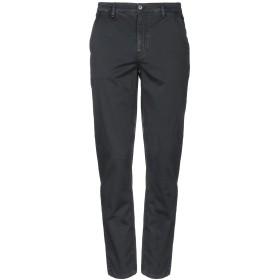 《セール開催中》VERSACE COLLECTION メンズ パンツ ブラック 52 コットン 98% / ポリウレタン 2%