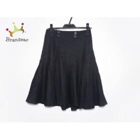 ボディドレッシングデラックス スカート サイズ36 S レディース 黒 プリーツ   スペシャル特価 20190807