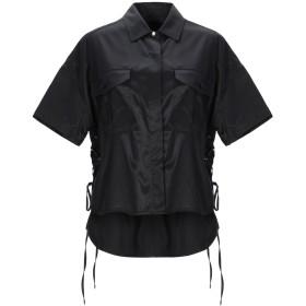 《送料無料》RAG & BONE レディース シャツ ブラック XS キュプラ 49% / コットン 48% / ポリウレタン 3%
