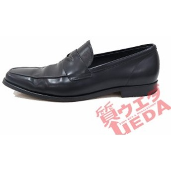 【栄】トッズ ローファー レザー ブラック サイズ8 1/2 靴 メンズ 27cm ビジネスシューズ