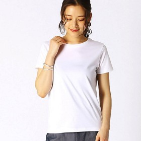 <COMME CA ISM (レディース)> ベーシック 半袖 Tシャツ(1260CL01) 01【三越・伊勢丹/公式】