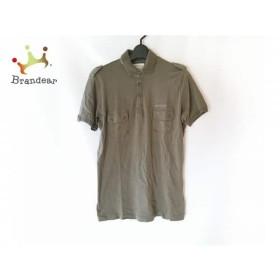 ディーゼル DIESEL 半袖ポロシャツ サイズS メンズ ダークグリーン   スペシャル特価 20190809