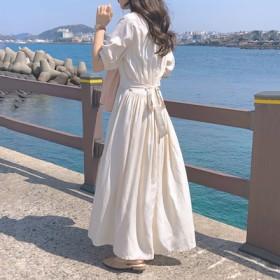 韓国ファッション通販業界1位★ 女性美up↑ワンピース レディース ゆったり おしゃれ シンプル ワンピース 活気に満ちた少女 ワンピース