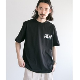 URBAN RESEARCH / アーバンリサーチ LIFE'S A BEACH LAB LOGO T-SHIRTS
